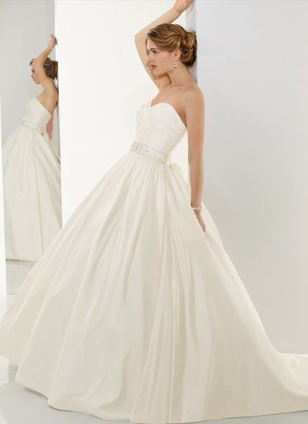 Taffeta Wedding Dresse