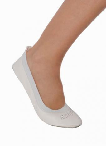 Bride fold up ballet flats ballet shoe