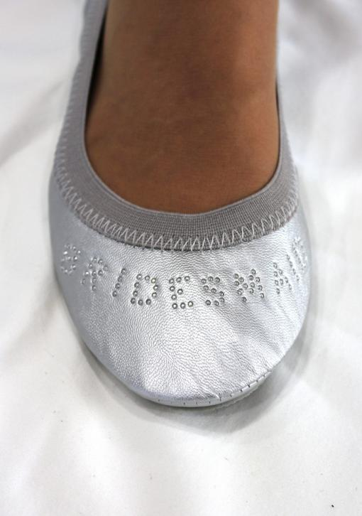 """BRIDESMAID"" Fold-up Ballet Flats"