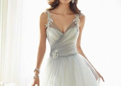 Light-grey-and-white-tulle-