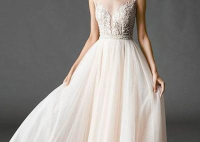 Light-pink-tulle-wedding-dr