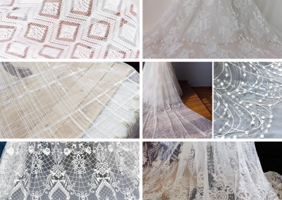 Custom Wedding Dress Lace Designs