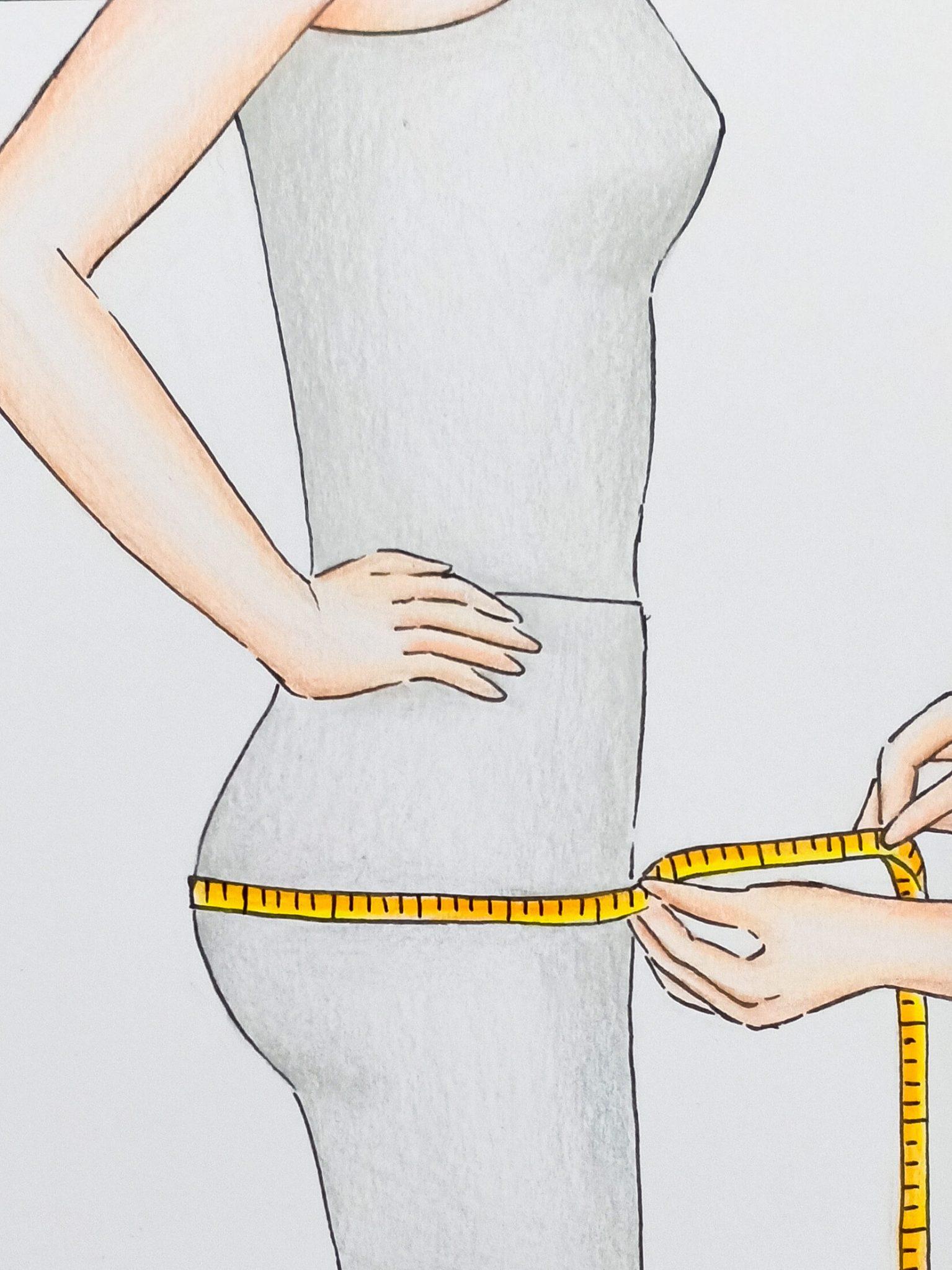 Hips Measuring
