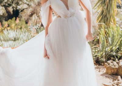 Ziva Tulle Wedding Gown(1)