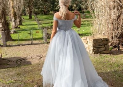 Ziva Tulle Wedding Gown(4)