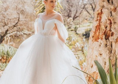 Ziva Tulle Wedding Gown(6)