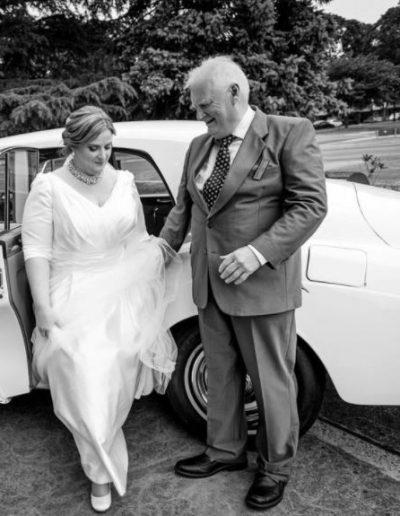 Plus size satin wedding dress